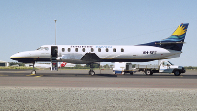 VH-SEF - Fairchild SA227-AC Metro III - Sunshine Express Airlines
