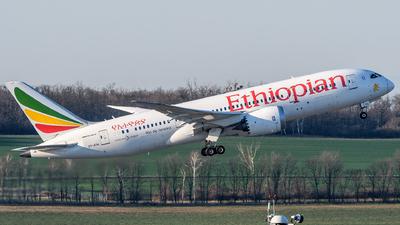 A picture of ETATH - Boeing 7878 Dreamliner - Ethiopian Airlines - © Chris Jilli