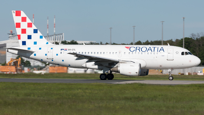 9A-CTL - Airbus A319-112 - Croatia Airlines