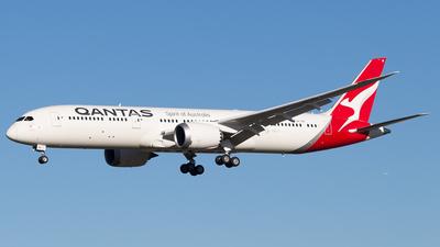 VH-ZNI - Boeing 787-9 Dreamliner - Qantas