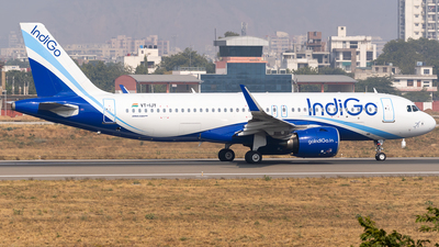 A picture of VTIJY - Airbus A320271N - IndiGo - © Rohan Paliwal