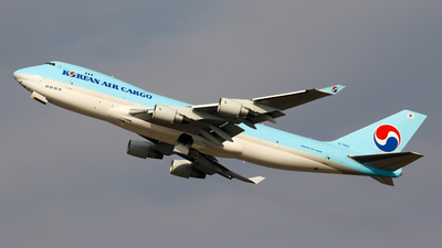 HL7602 - Boeing 747-4B5ERF - Korean Air Cargo