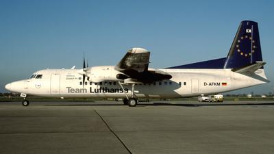 D-AFKM - Fokker 50 - Team Lufthansa (Contact Air)