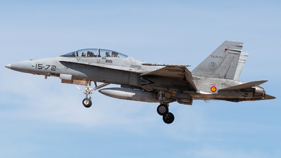 CE.15-03 - McDonnell Douglas EF-18BM Hornet - Spain - Air Force