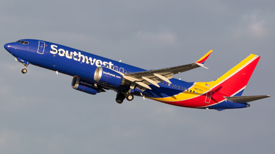 A picture of N8725L - Boeing 737 MAX 8 - Southwest Airlines - © Positive Rate Photography