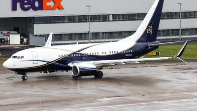 N839BA - Boeing 737-77Z(BBJ) - Boeing Company