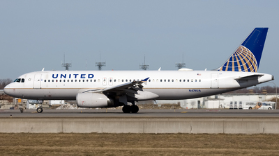 N474UA - Airbus A320-232 - United Airlines