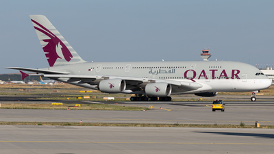 A7-APF - Airbus A380-861 - Qatar Airways