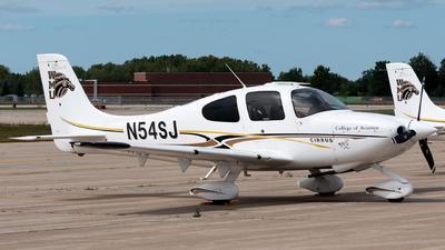 N54SJ - Cirrus SR20 - Western Michigan University College of Aviation