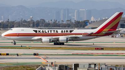 A picture of N401KZ - Boeing 747481F - Kalitta Air - © Wes Loeffler