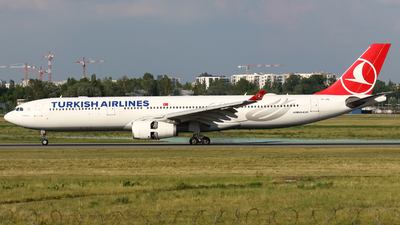 A picture of TCJNL - Airbus A330343 - Turkish Airlines - © Pawel Cieplak