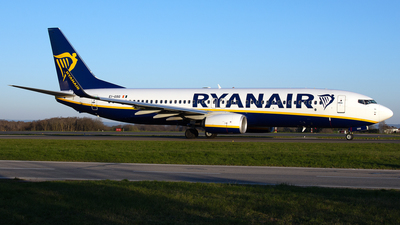 A picture of EIGSG - Boeing 7378AS - Ryanair - © PAUL LINK