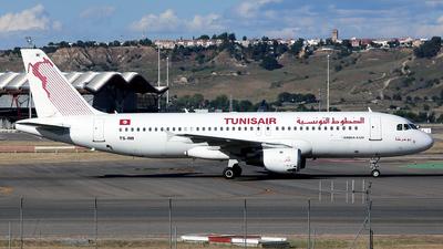 TS-INI - Airbus A320-211 - Tunisair