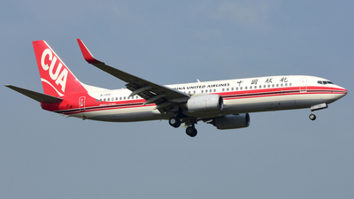 B-1310 - Boeing 737-89P - China United Airlines