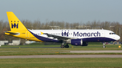 G-ZBAH - Airbus A320-214 - Monarch Airlines
