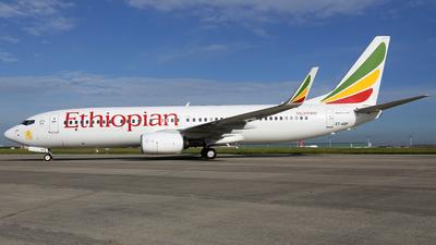 ET-AQP - Boeing 737-860 - Ethiopian Airlines