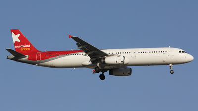 VQ-BRU - Airbus A321-232 - Nordwind Airlines