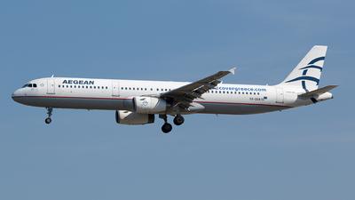 SX-DGA - Airbus A321-231 - Aegean Airlines