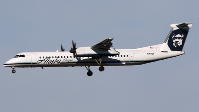 A picture of N411QX - De Havilland Canada Dash 8400 - [4055] - © Jeroen Stroes