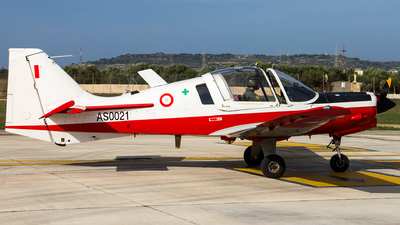 AS0021 - Scottish Aviation Bulldog T.1 - Malta - Armed Forces