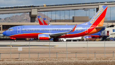 N389SW - Boeing 737-3H4 - Southwest Airlines