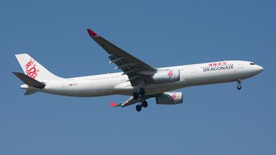 B-HLI - Airbus A330-341 - Dragonair