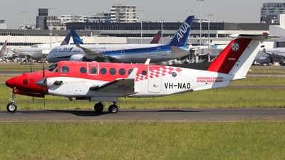 VH-NAO - Beechcraft B300C King Air 350C - Ambulance Service of NSW