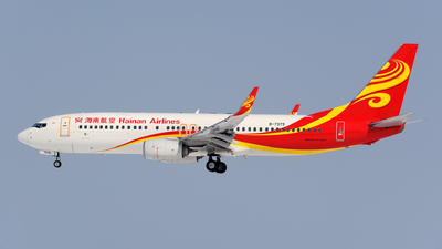 A picture of B7379 - Boeing 73784P - Hainan Airlines - © sunshy0621