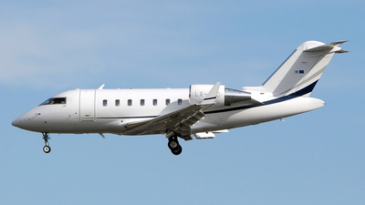LX-JNC - Bombardier CL-600-2B16 Challenger 605 - Luxaviation