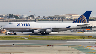 N178UA - Boeing 747-422 - United Airlines