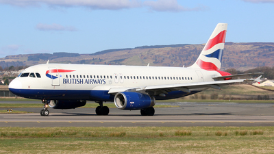 A picture of GEUUF - Airbus A320232 - British Airways - © Nathan McRither