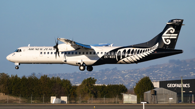 ZK-MZD - ATR 72-212A(600) - Air New Zealand