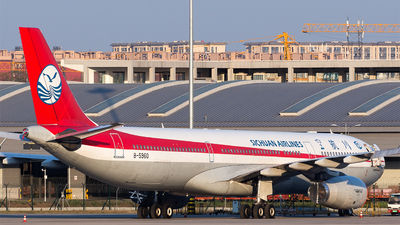 A picture of B5960 - Airbus A330343 - Sichuan Airlines - © Marcus Yu