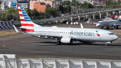 A picture of N844NN - Boeing 737823 - American Airlines - © Juan Carlos Alvarez (MAS Aviation Press)