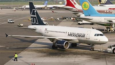 XA-UBY - Airbus A318-111 - Mexicana