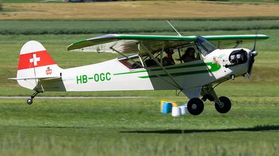 HB-OGC - Piper J-3C-65 Cub - Private