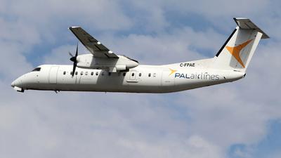 A picture of CFPAE - De Havilland Canada Dash 8300 - PAL Airlines - © Guy Langlois