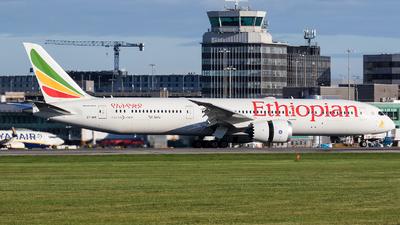 ET-AXK - Boeing 787-9 Dreamliner - Ethiopian Airlines
