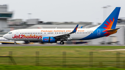 A picture of GGDFW - Boeing 7378K5 - Jet2 - © Enda Burke