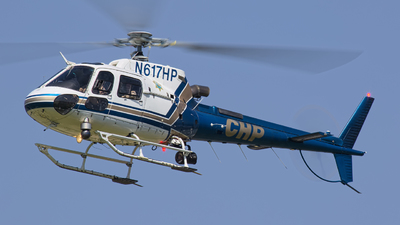 N617HP - Eurocopter AS 350B3 Ecureuil - United States - California Highway Patrol (CHP)