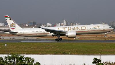 A6-ETJ - Boeing 777-3FXER - Etihad Airways