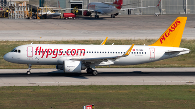 A picture of TCNBV - Airbus A320251N - Pegasus Airlines - © Kuzey Alan