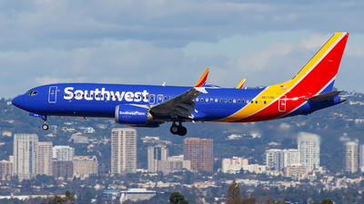 A picture of N8719Q - Boeing 737 MAX 8 - Southwest Airlines - © James Rowson