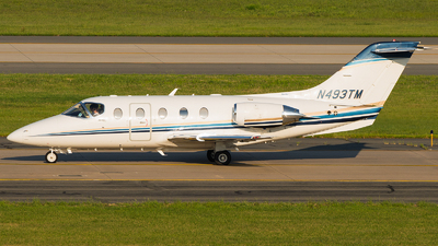 N493TM - Hawker Beechcraft 400A - Private