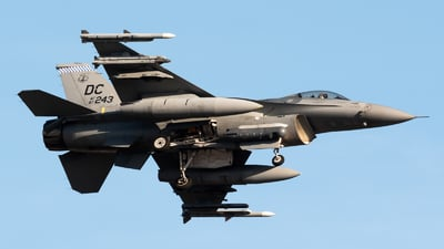 87-0243 - Lockheed Martin F-16C Fighting Falcon - United States - US Air Force (USAF)