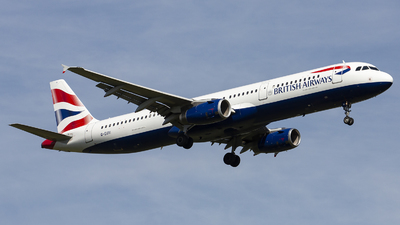 G-EUXI - Airbus A321-231 - British Airways