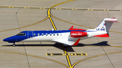 LX-ONE - Bombardier Learjet 45XR - Luxembourg Air Rescue (LAR)