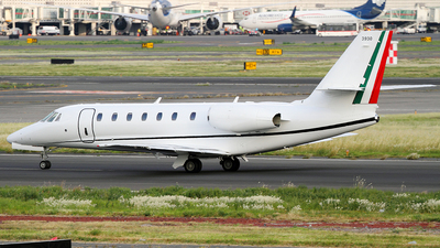 3930 - Cessna 680 Citation Sovereign - Mexico - Air Force
