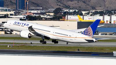 N38955 - Boeing 787-9 Dreamliner - United Airlines
