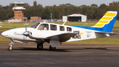 VH-NSK - Beechcraft 58 Baron - Little Wings